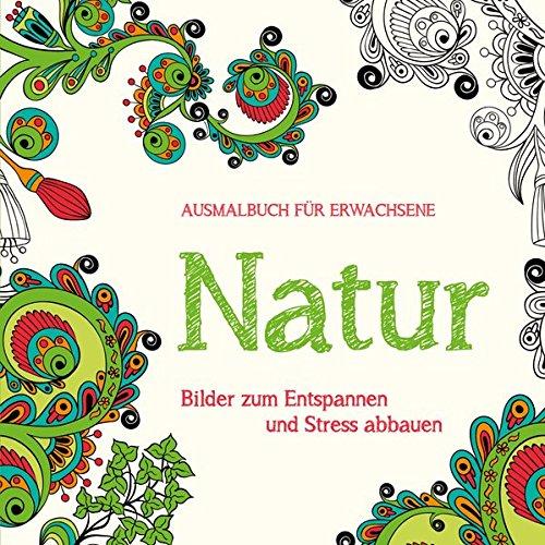 Ausmalbuch für Erwachsene - Natur