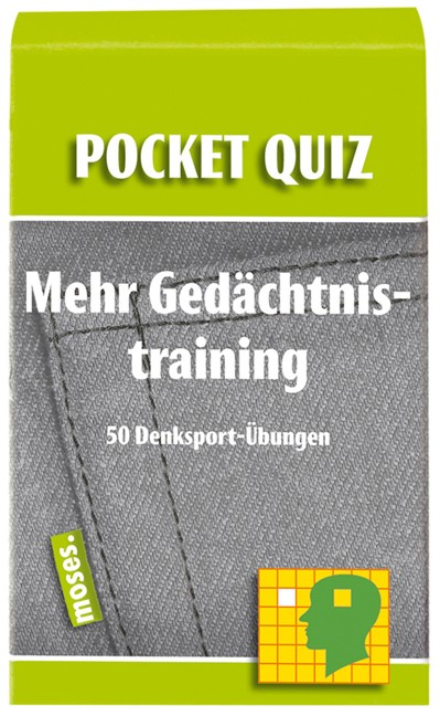 Pocket Quiz Mehr Gedächtnistraining
