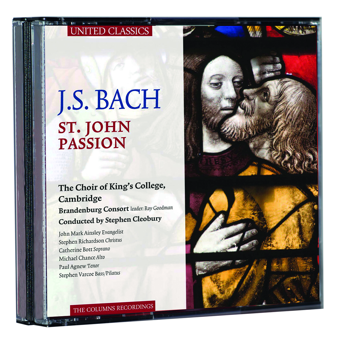 J. S. Bach - Johannespassion - CD, statt 19,95