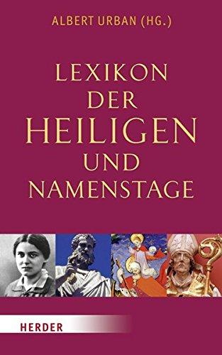 Lexikon der Heiligen und Namenstage