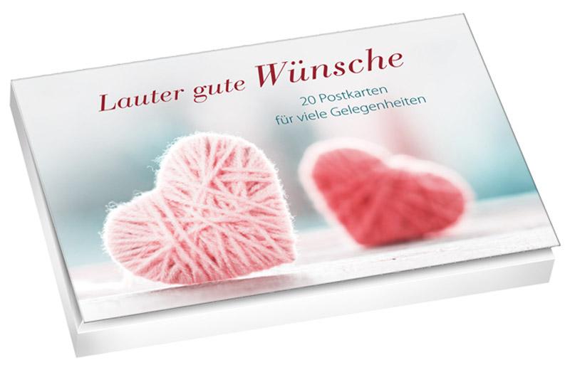 Lauter gute Wünsche – Postkartenbuch