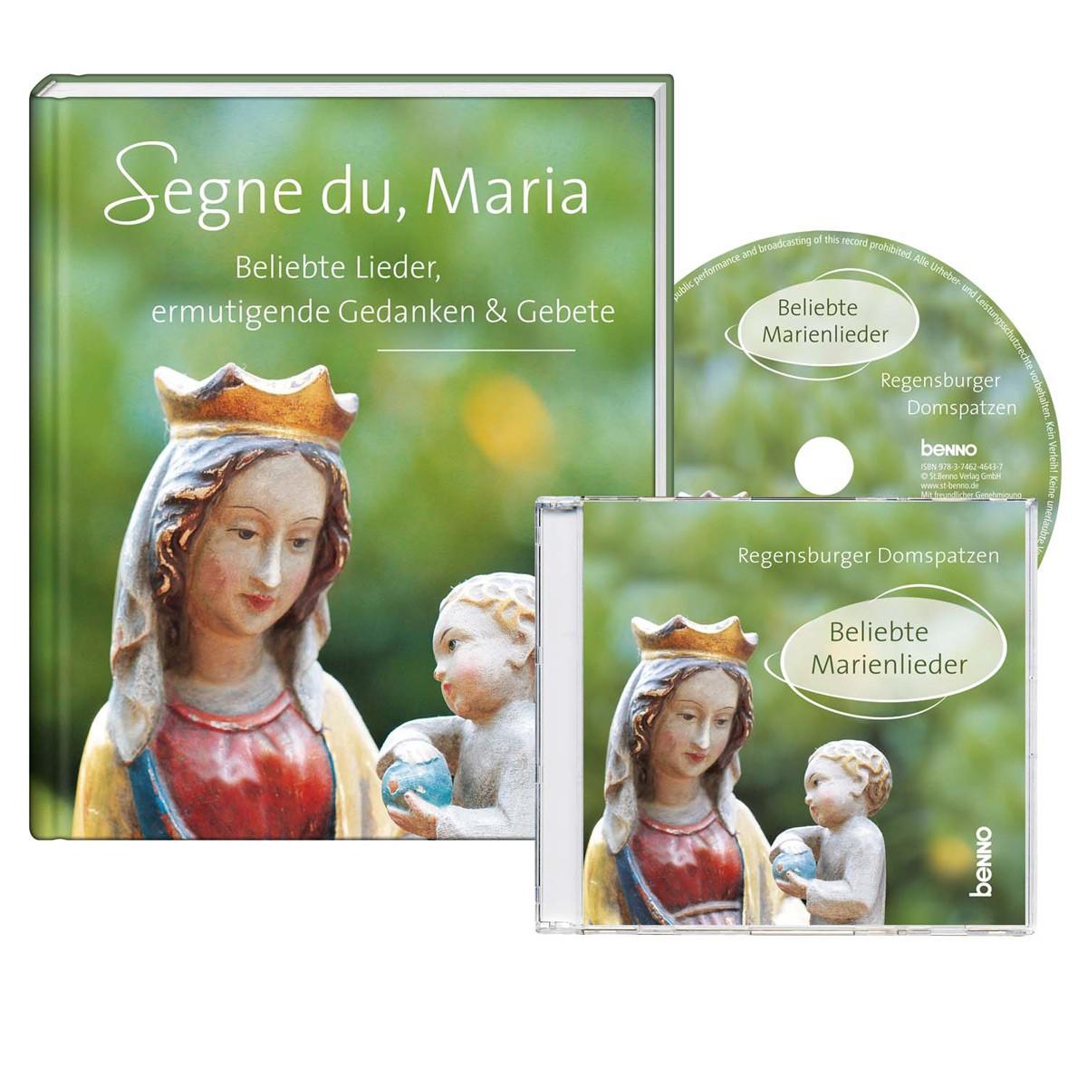 Segne du, Maria - CD & Buch