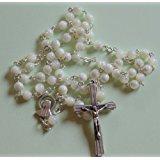 Rosenkranz aus Perlmutt, Perlen 4 mm
